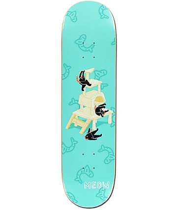 "Meow Skateboards Cat Meowtain 8.25"" Skateboard Deck"