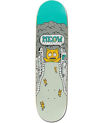 "Meow Skateboards Catzilla 8.0"" Skateboard Deck"