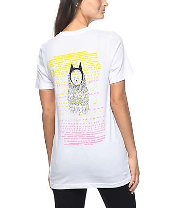 Meow Skateboards Dress Up White T-Shirt