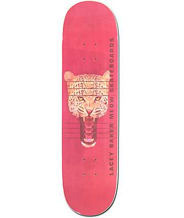"Meow Skateboards Lacey Baker Jones 8.25"" Skateboard Deck"