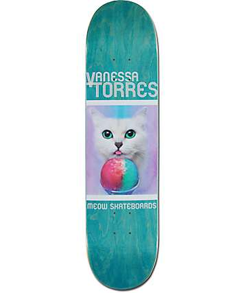 "Meow Skateboards Torres Furreal 7.75"" Skateboard Deck"