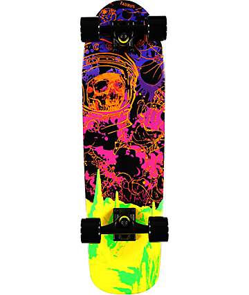 "Mercer Blacklight 28.5""  Cruiser Complete Skateboard"