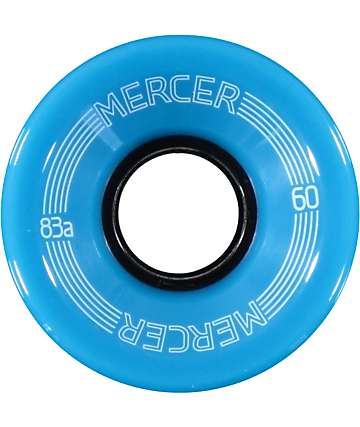 Mercer Blue 60mm Skateboard Wheels