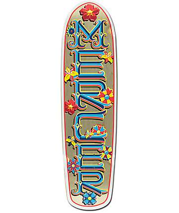 "Mercer Flower Power 34"" Cruiser Skateboard Deck"