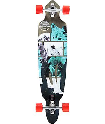 "Mercer Great North 40"" Drop Through Longboard Complete"