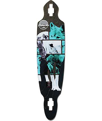 "Mercer Great North 40"" Drop Through Longboard Deck"