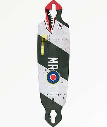 "Mercer Hill Bomber 36"" Drop Through Longboard Deck"