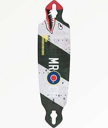 """Mercer Hill Bomber 36"""" Drop Through Longboard Deck"""
