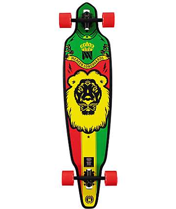"Mercer King Lion 41"" Drop Through Longboard Complete"