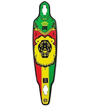"Mercer King Lion 41"" Drop Through Longboard Deck"