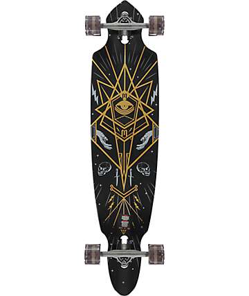 "Mercer Mystic Society 42"" Drop Through Longboard Complete"