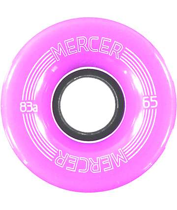 Mercer Purple 65mm Skateboard Wheels