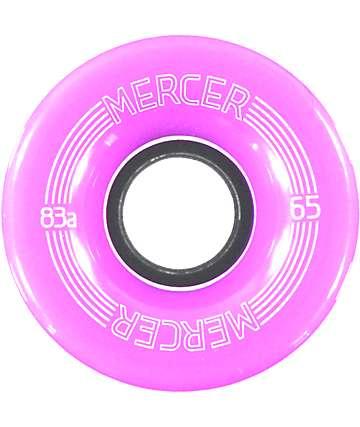 Mercer Purple 65mm Skateboard Wheels