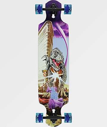 "Mercer Rex Wizard 38"" Longboard Complete"