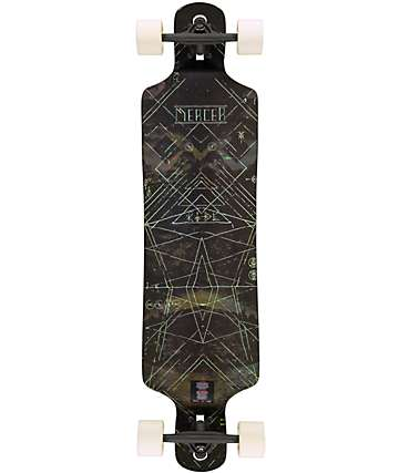 "Mercer Shadow 39.25""  Drop Through Longboard Complete"