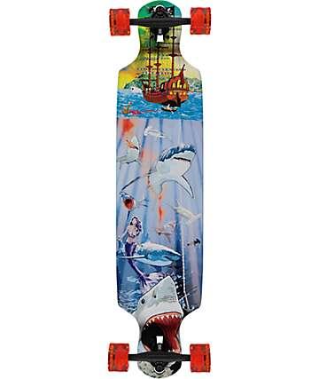 "Mercer Shark Reef 40"" Longboard Complete"