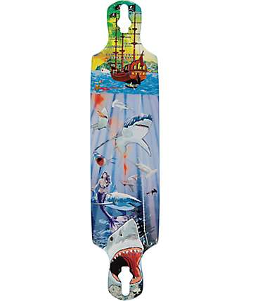 "Mercer Shark Reef 40"" Longboard Deck"