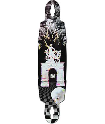 "Mercer Socratic Glow In The Dark 41.75"" Drop Through Longboard Deck"
