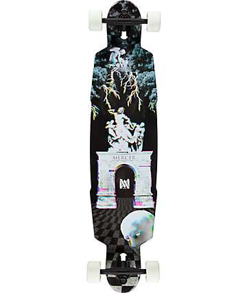 "Mercer Socratic Glow In The Dark 41.75""  Drop Through Longboard Complete"