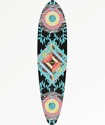"Mercer Woodstock 35"" Mini Pintail Longboard Deck"