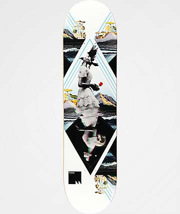 "Meridian Skateboards Waves 8.0"" Skateboard Deck"
