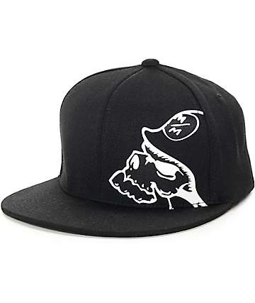 Metal Mulisha Authentic Black FlexFit Hat