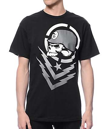 Metal Mulisha Boltz Black T-Shirt