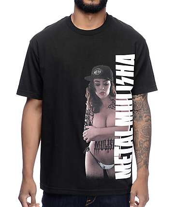 Metal Mulisha Branded camiseta en negro