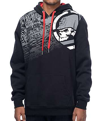 Metal Mulisha Decay Black Hoodie