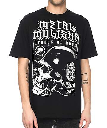 Metal Mulisha Doom camiseta negra