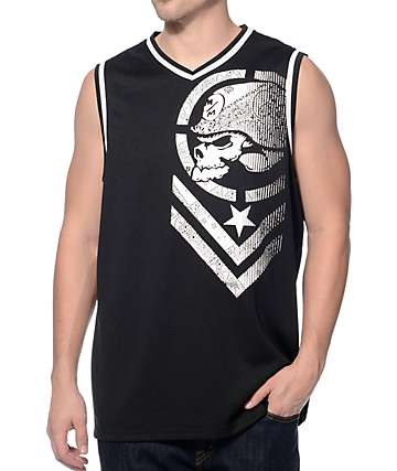 Metal Mulisha Hazy Black Mesh Jersey