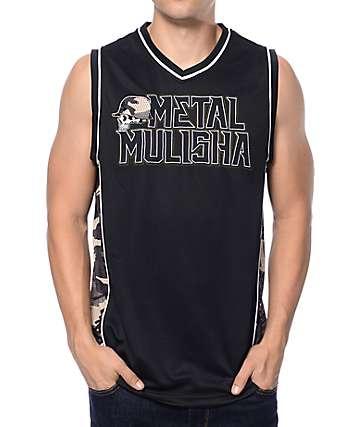 Metal Mulisha Hideout Black & Camo Jersey