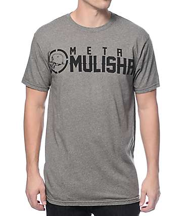 Metal Mulisha Mock Twist Olive T-Shirt