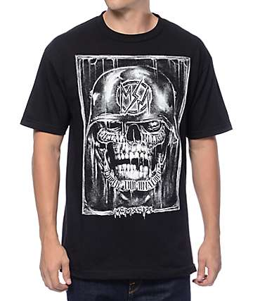 Metal Mulisha Night Creeper camiseta negra