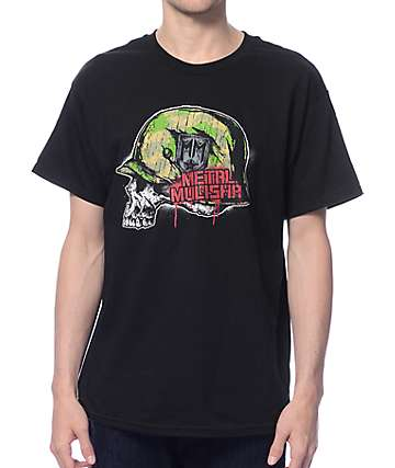 Metal Mulisha Platoon Black T-Shirt