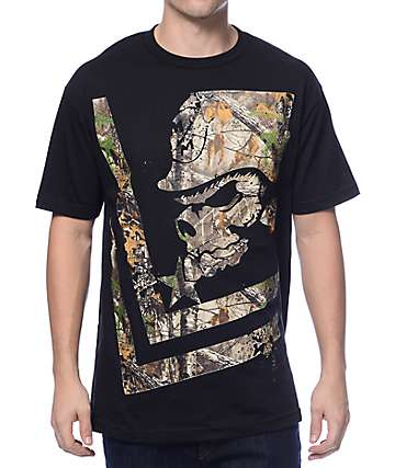 Metal Mulisha Trail Real Tree Black T-Shirt