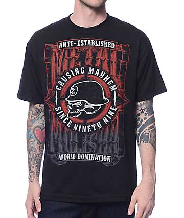 Metal Mulisha West Black T-Shirt
