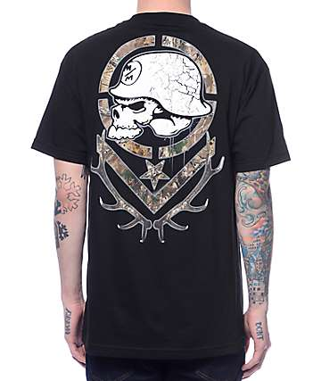 Metal Mulisha x Realtree Combo Black T-Shirt