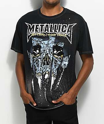 Metallica Skull camiseta negra