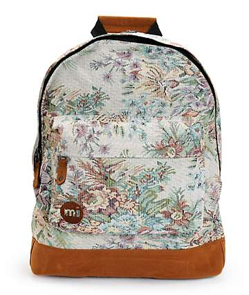 Mi-Pac Premium Rose Tapestry Backpack