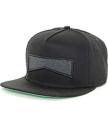 Mighty Healthy Grip Black Snapback Hat