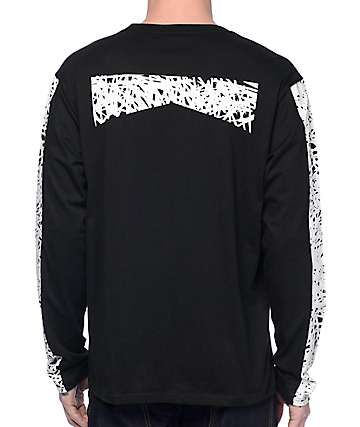Mighty Healthy Scribble Long Sleeve T-Shirt