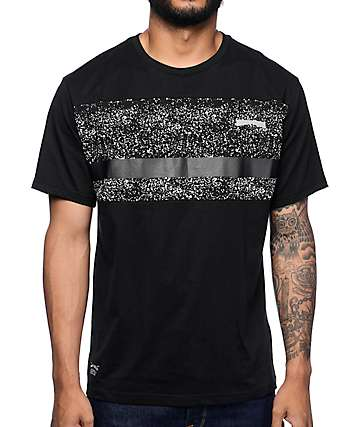 Mighty Healthy Stardust Black T-Shirt