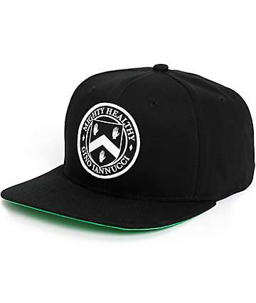 Mighty Healthy x Gino Iannucci Snapback Hat