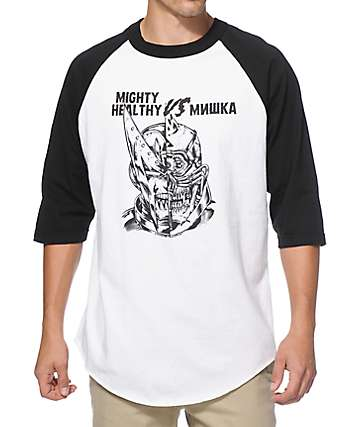 Mighty Healthy x Mishka VS Baseball T-Shirt