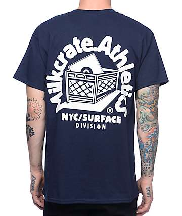 Milkcrate Athletics Mr. Smiles Navy T-Shirt