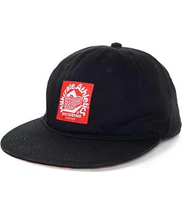 Milkcrate Black Strapback Hat