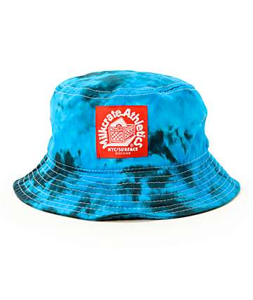 Milkcrate Electric Tie Dye Bucket Hat