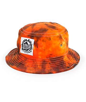 Milkcrate Fire Tie Dye Bucket Hat