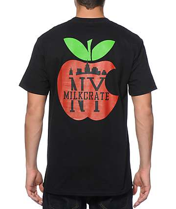 Milkcrate NY Apple T-Shirt